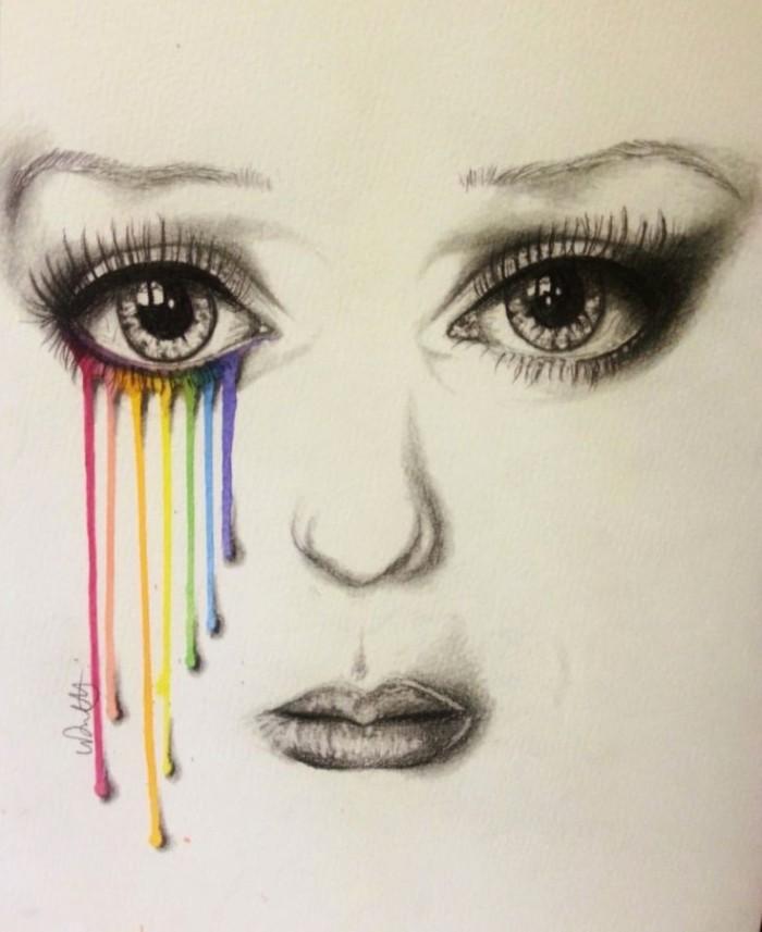 rainbow-tears